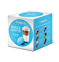 Кофе в капсулах «Veronese Caramel Latte» Dolce Gusto