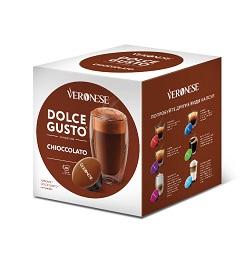 Кофе в капсулах «Veronese Chioccolato» Dolce Gusto