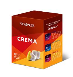Кофе в капсулах «Veronese Crema» Nespresso