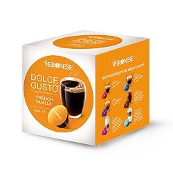Кофе в капсулах «Veronese French Vanilla» Dolce Gusto